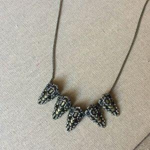 Art Deco Chloe+Isabel necklace *Vintage C+I*